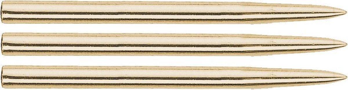 Bull's Steel Dart Grip Points Gold - 35mm