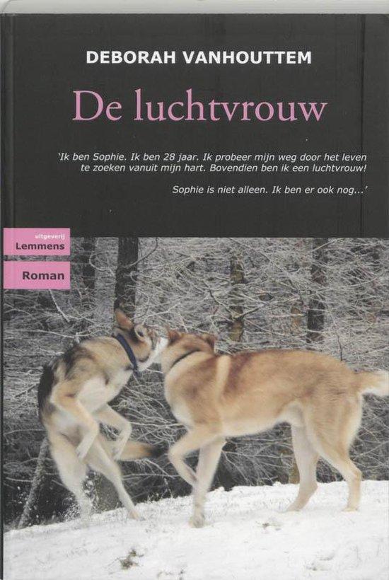 Cover van het boek 'De luchtvrouw' van D. Vanhouttem