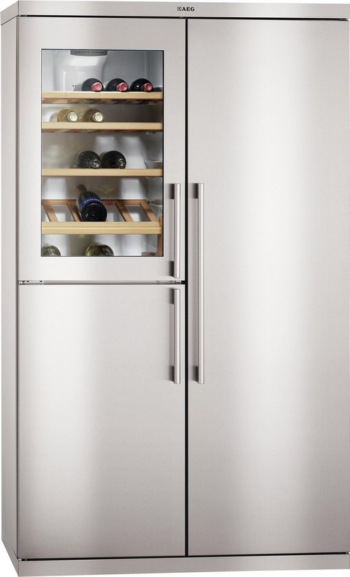 Wonderlijk bol.com   Aeg Vrijstaand S95900XTM0 side-by-side koelkast KM-68