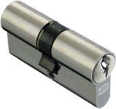 DOM dubbele cilinder - 333B plura SKG*** - 30-45mm - set à 4 stuks gelijksluitend