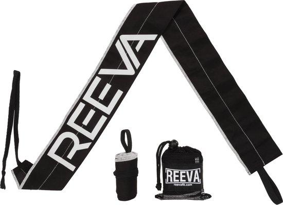 Reeva Strength Wraps – Geschikt voor Fitness en CrossFit – Zwart