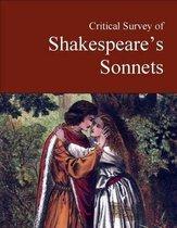 Boek cover Critical Survey of Shakespeares Sonnets van Salem Press