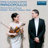 F. Schubert: Sonate A-Dur; G. Gershwin: 5 Pieces F
