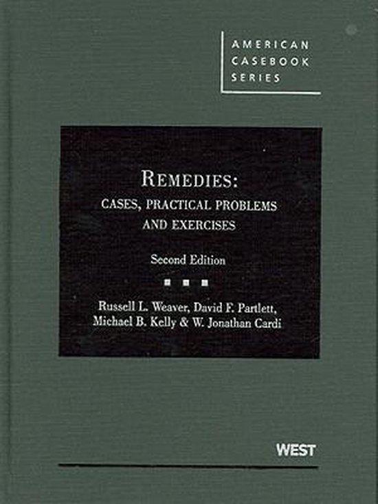 Boek cover Weaver, Partlett, Kelly and Cardis Remedies van Russell L Weaver (Hardcover)