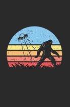Yeti Alien Bigfoot Notebook