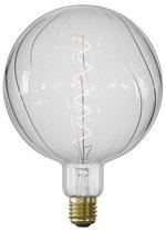 Calex Crystal Visby - Helder glas - led lamp - Ø150mm - Dimbaar