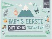 Milestone® Special Moments Booklet - Baby's eerste outdoor momenten