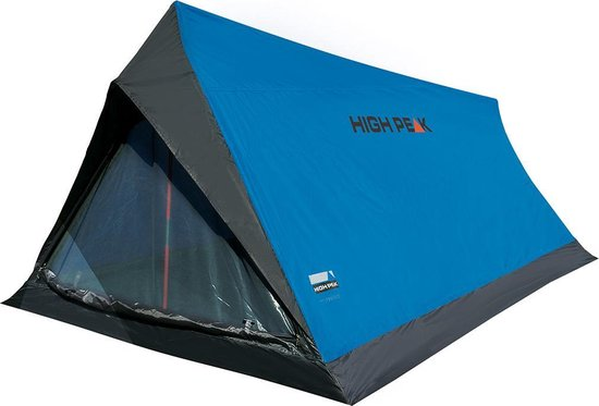 High Peak Minilite Tunneltent - 2-Persoons - Blauw
