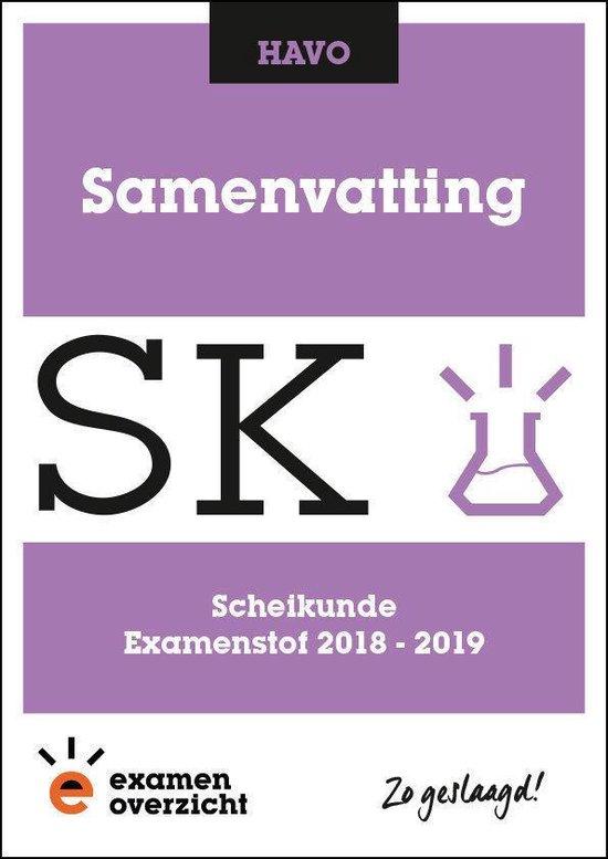 ExamenOverzicht - Samenvatting Scheikunde HAVO - ExamenOverzicht |