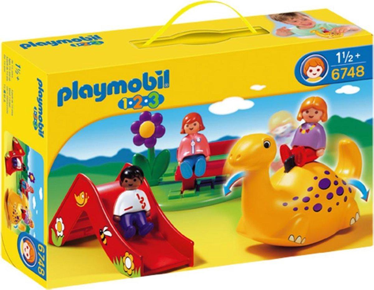 PLAYMOBIL 1.2.3 Speeltuin - 6748