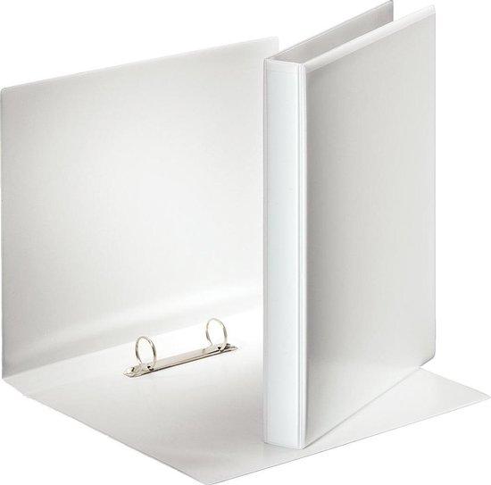 Afbeelding van Esselte personaliseerbare ringmap rug van 38 cm 2 O-ringen van 25 mm wit