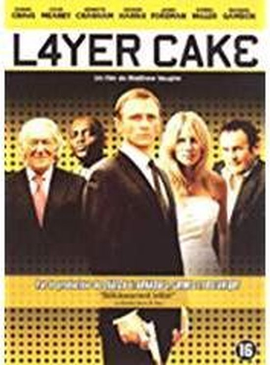 Cover van de film 'Layer Cake'