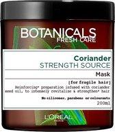L'Oréal Paris Botanicals Coriander Strength Source Haarmasker - 200 ml - Kwestbaar Haar