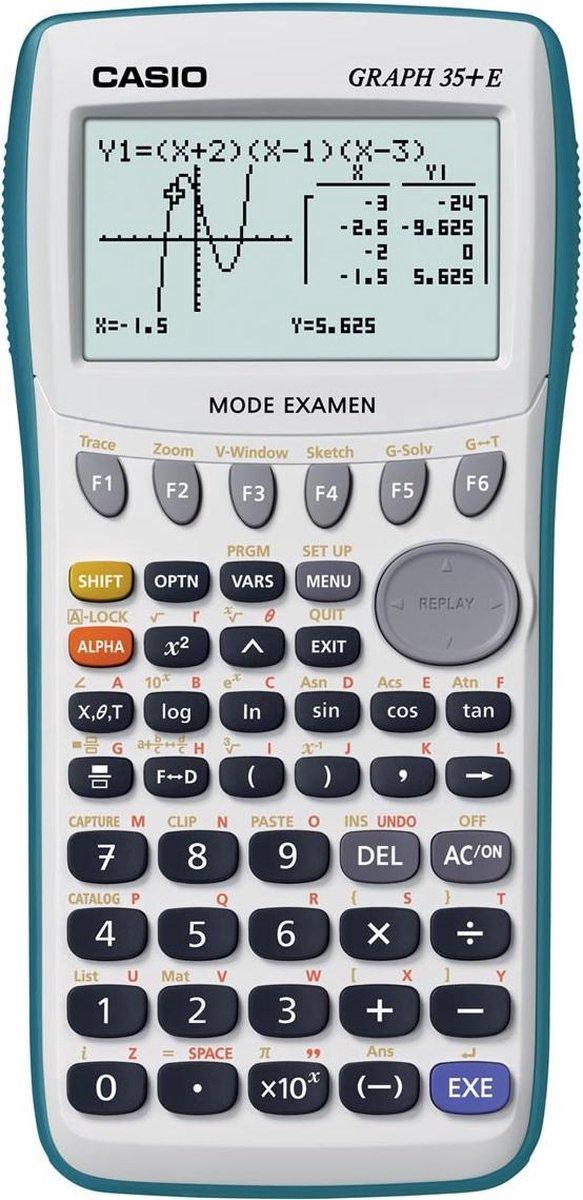 Casio grafische rekenmachine GRAPH35+E
