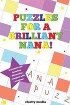 Puzzles for a Brilliant Nana