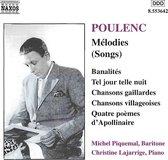 Poulenc: Melodies (Songs)