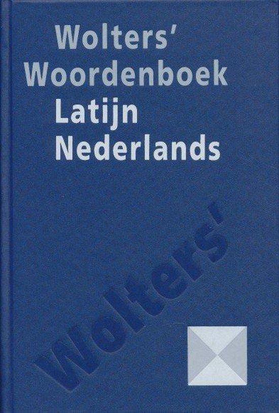 Wolters' beknopt Latijns-Nederlands woordenboek - Wolters Groningen |