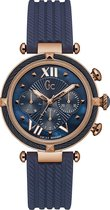 Gc Watches - Y16005L7 - Horloges - Dames -  RVS - Blauw -  38 mm