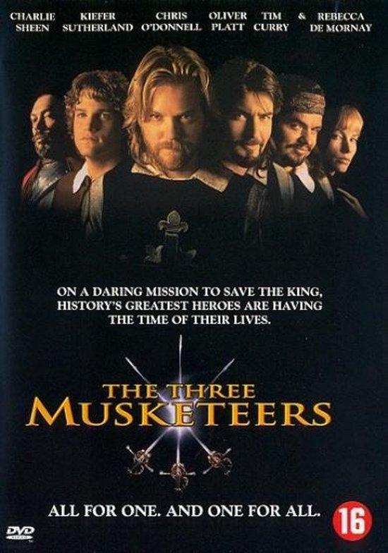 Cover van de film 'Three Musketeers'