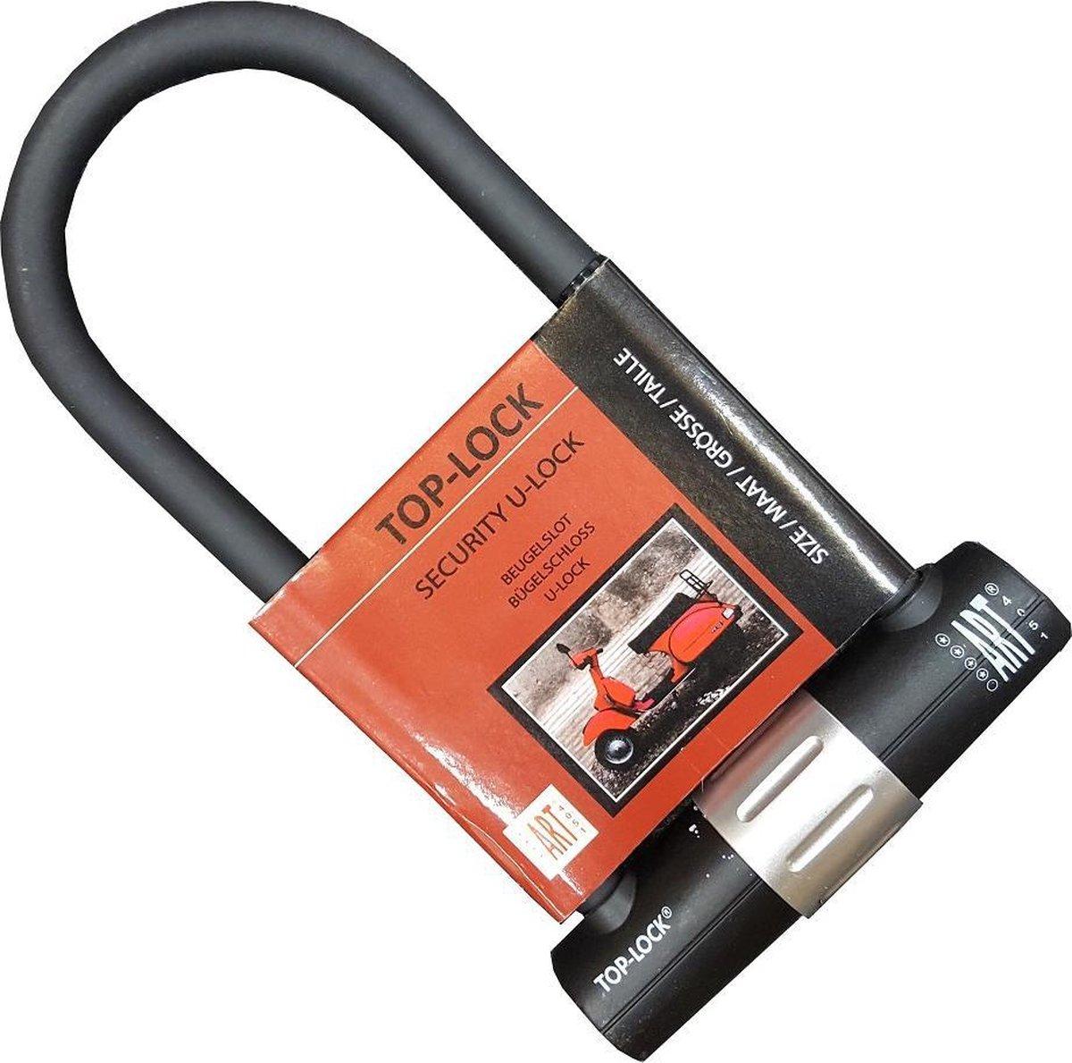 Beugelslot Scooter, Motor & Fiets Top-Lock ART 4 - 32cm