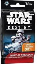 4x Star Wars Destiny: Spirit of Rebellion booster (4 Stuks)