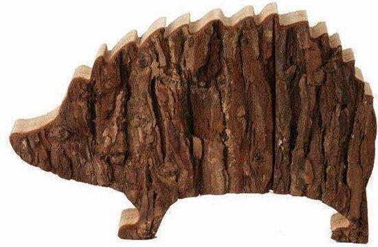 Lenoardo Houten egel 12,5 cm