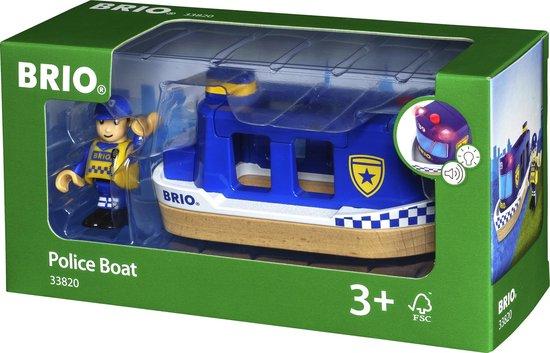 Afbeelding van BRIO Politie boot - 33820 speelgoed