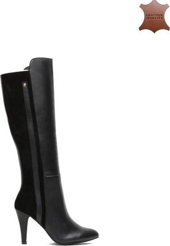 | Leder Laarzen Dames Laarzen Lange Laarzen