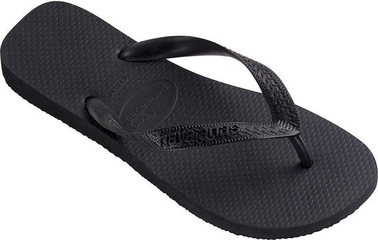 Havaianas Top Unisex Slippers - Black - Maat 41/42