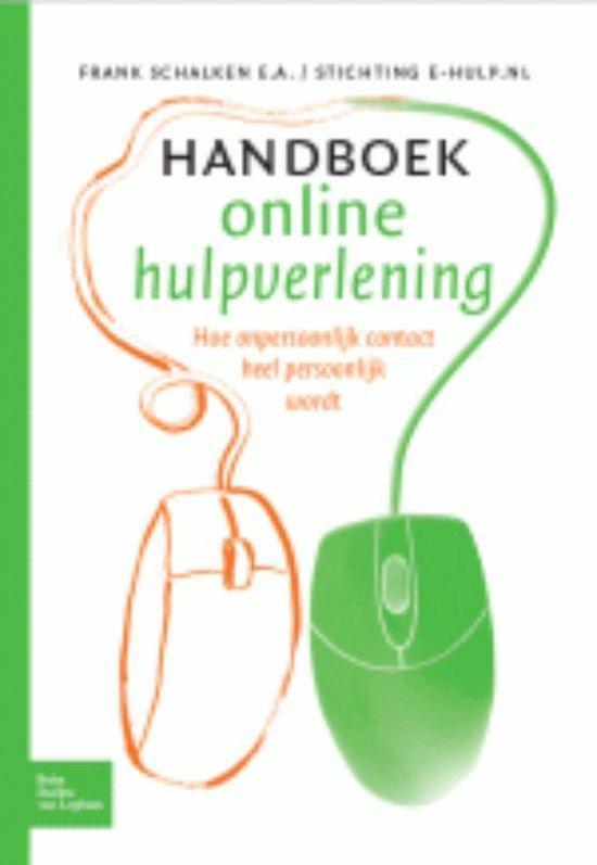Handboek online hulpverlening