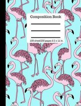 Goddess Book Press Pink Flamingo Composition Book Writing Notebook College