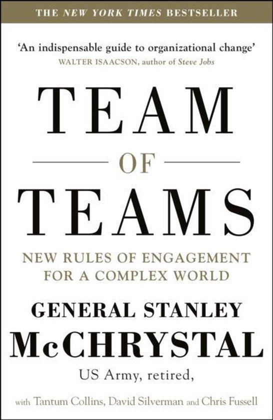 Boek cover Team of Teams van General Stanley McChrystal (Onbekend)