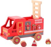 Jouéco® - Vormenstoof brandweerauto