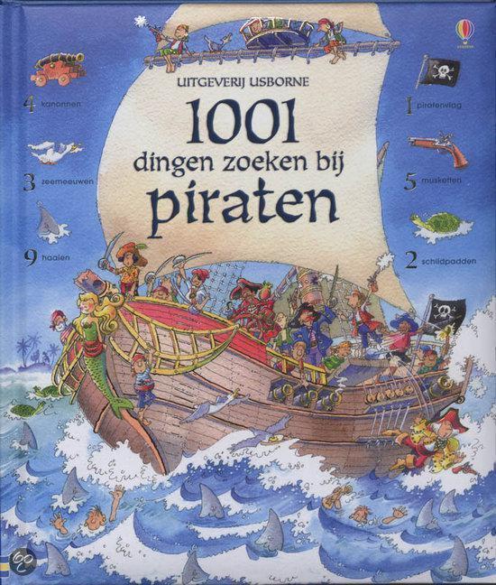 Cover van het boek '1001 dingen zoeken bij piraten' van Rob Lloyd Jones