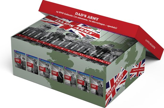 Dad's Army - De Complete Collectie (Deluxe Edition) -