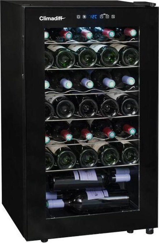 Koelkast: Climadiff CLS24 - Wijnklimaatkast - 34 flessen, van het merk Climadiff