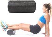 Foam roller - foam roller - pilates - fitness - yoga - zwart - 30cm - DisQounts
