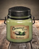 McCall's Candles Classic Jar Candle Coconut Lime Verbena