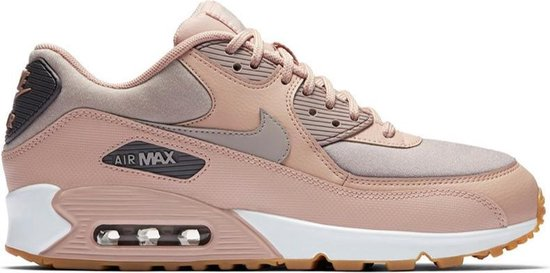 nike air max dames roze grijs