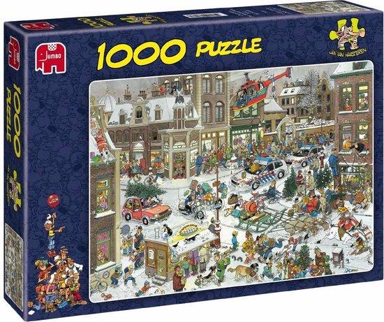 Afbeelding van Jan van Haasteren Kerstmis - Puzzel 1000 Stukjes