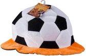 Nederland Voetbalhoed Bal Polyester Oranje/wit