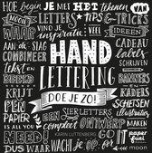 1x Boek Handlettering Doe je Zo! + 1 x  Handlettering doe je zo! Werkboek +  2 stuks Tombow Fodenosuke Brush Pennen H/S