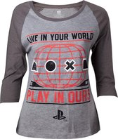 Difuzed Playstation Difuzed Unisex T-shirt Maat 2XL