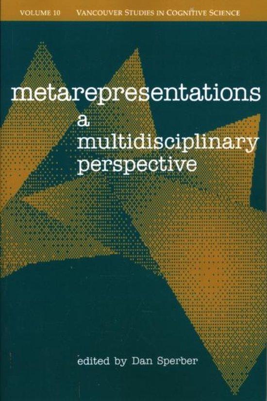 Boek cover Metarepresentations van Sperber (Paperback)
