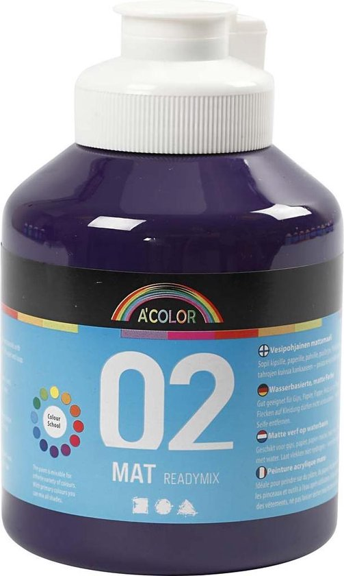 A-Color acrylverf, 500 ml, violet