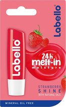 Labello Strawberry Shine lipbalsem Rood Vrouwen