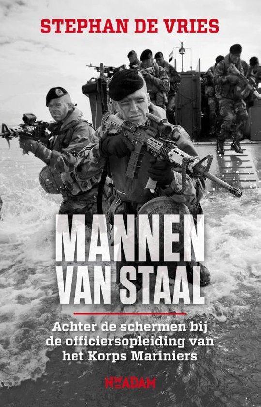 Boek cover Mannen van staal van Stephan de Vries (Paperback)