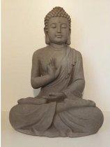 Garden Boeddha 40cm grijs | GerichteKeuze
