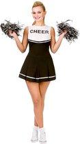 Hoge School Cheerleader pak in zwart