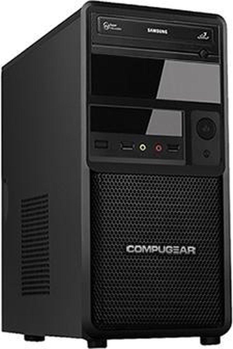 COMPUGEAR Premium PC8400-16SH - Core i5 - 16GB RAM - 240GB SSD - 1TB HDD - Desktop PC